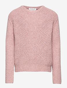 Pullover ls - strikkevarer - vintage blend