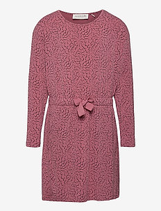 Dress ls - kjoler - rose whirlwind print