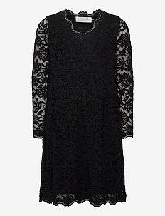 Dress ls - kjoler - black