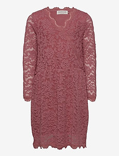 Dress ls - kjoler - pale rose
