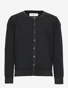 Cardigan ls - DARK GREY MELANGE