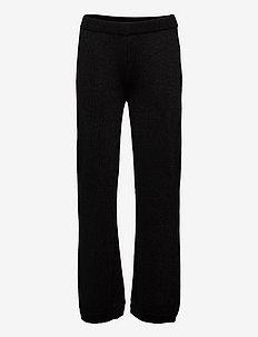 Trousers - byxor - black shimmer blend