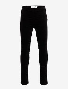 Trousers - leggings - black