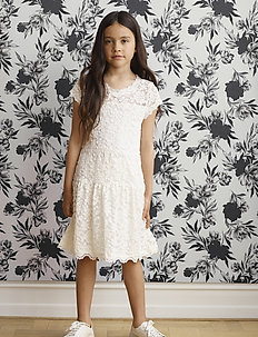 Dress ss - sukienki - ivory
