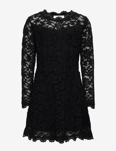 Dress ls - robes - black