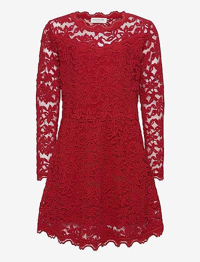 Dress ls - robes - cranberry