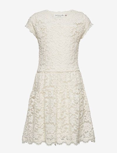 Dress ss - robes - ivory