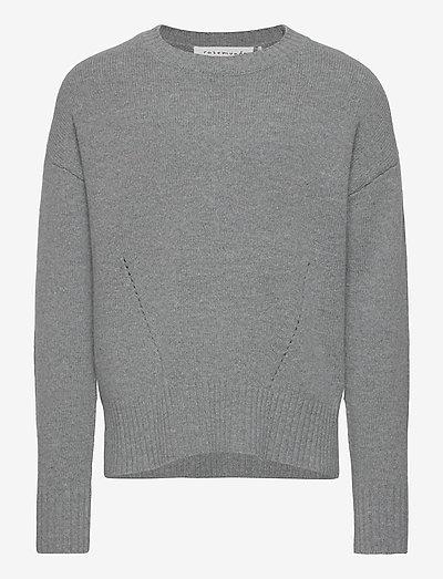 Pullover ls - pulls - light grey melange