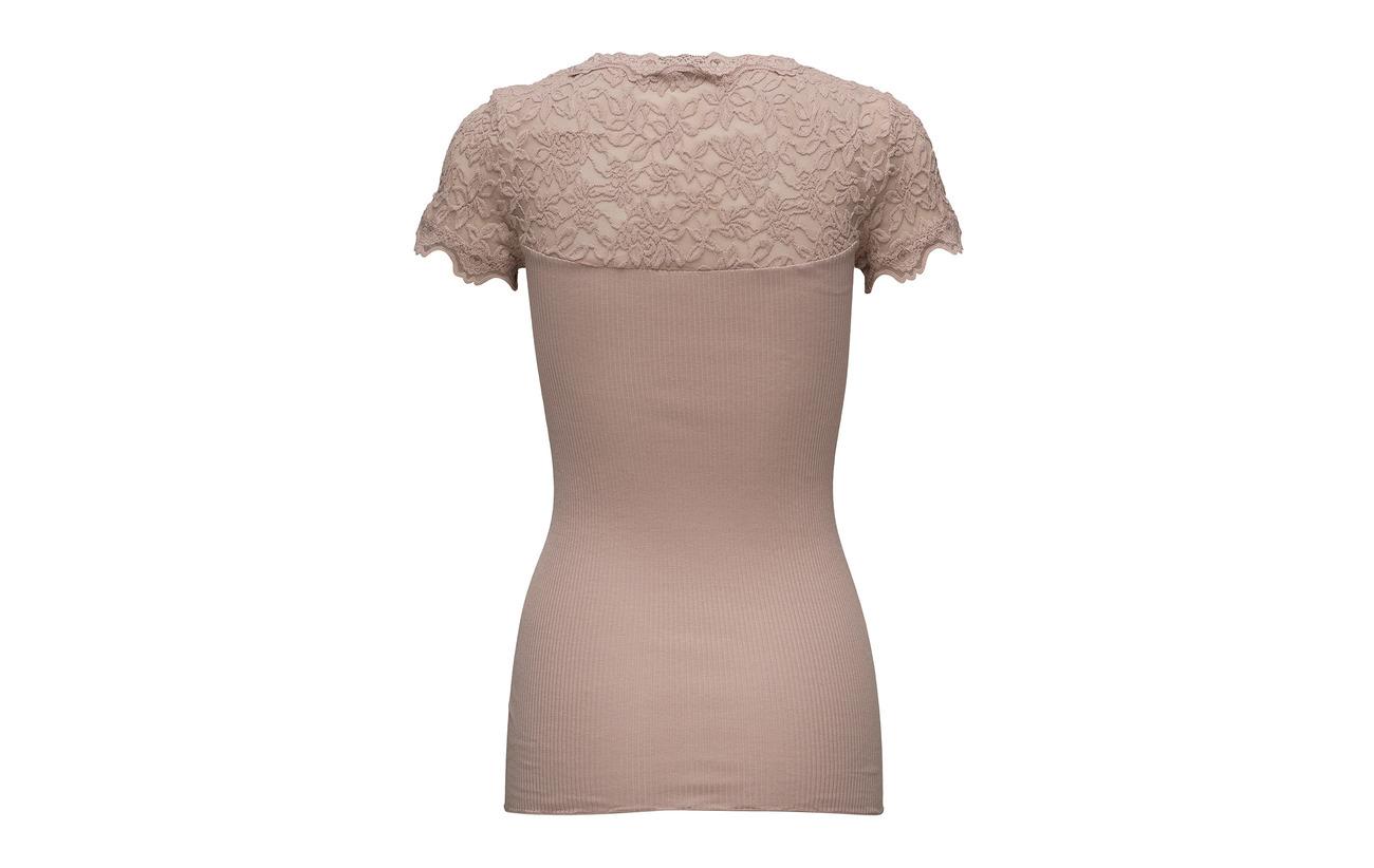 shirt W Powder 70 Silk Rosemunde Regular 30 Soie Coton T Vintage Ss XqTSTUEWw