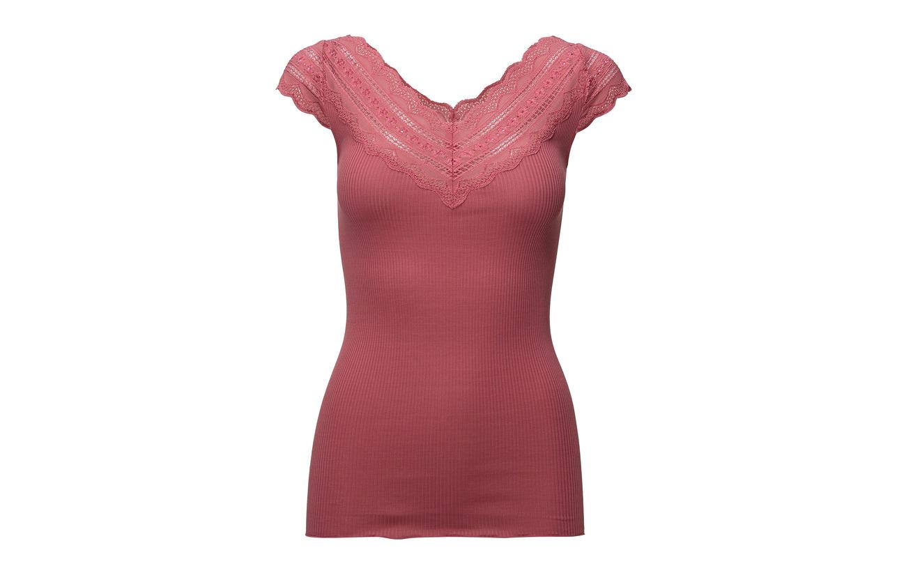 Coton Silk Regular 30 Ss 70 W Cream Lace T Tan Soie wide shirt Rosemunde RwgwA