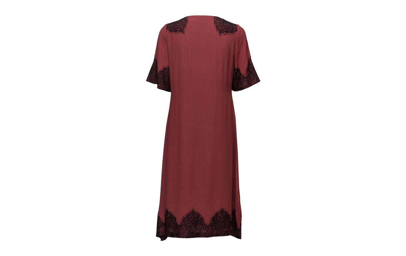Small Dress 20 Polyester Rosemunde Viscose Graphic Ss 80 Print wEWWpdq0