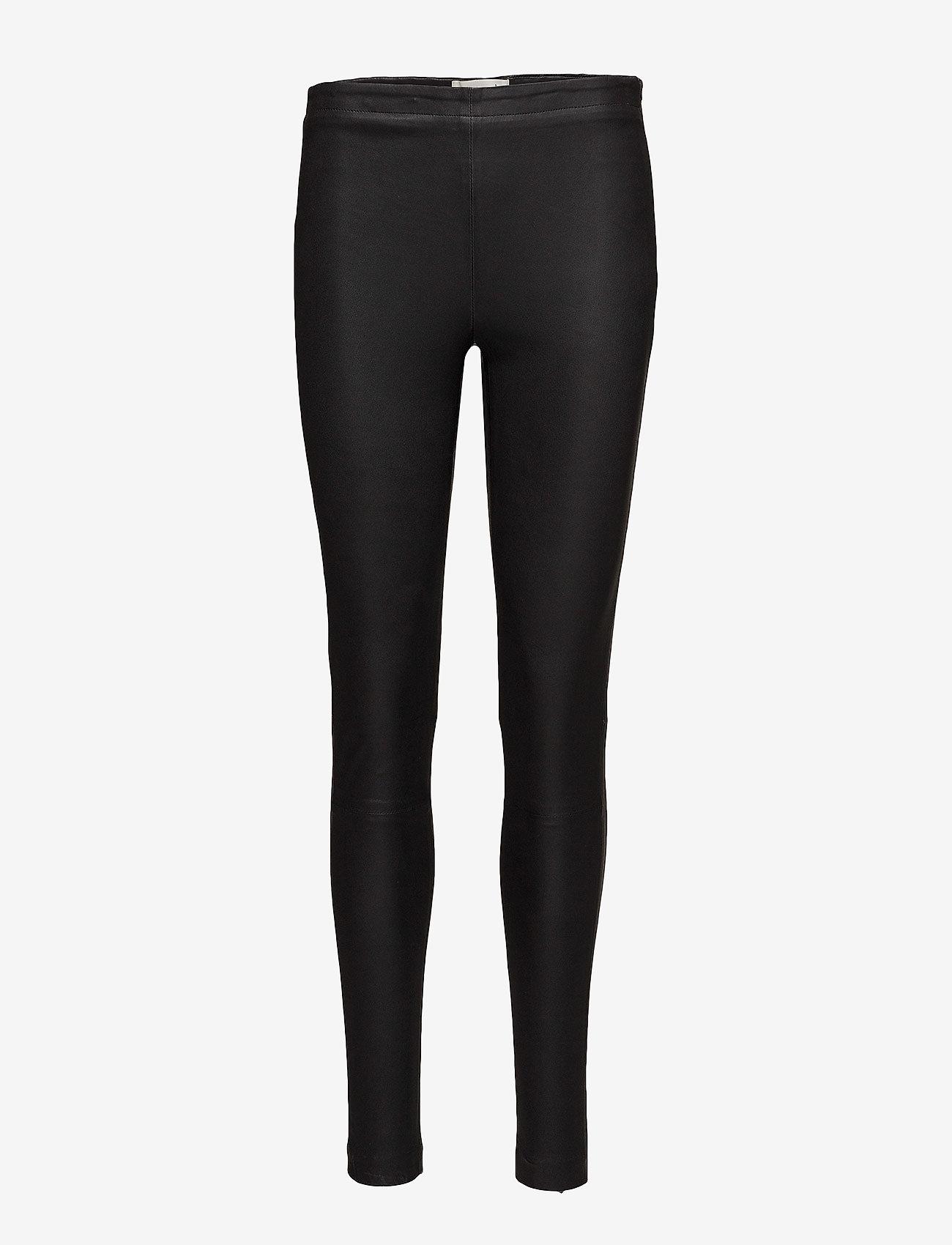 Rosemunde - Trousers - broeken med skinny fit - black - 0