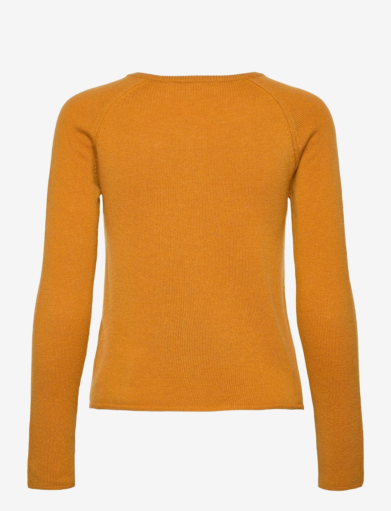 Rosemunde - Wool & cashmere cardigan ls - kashmir - golden mustard - 1