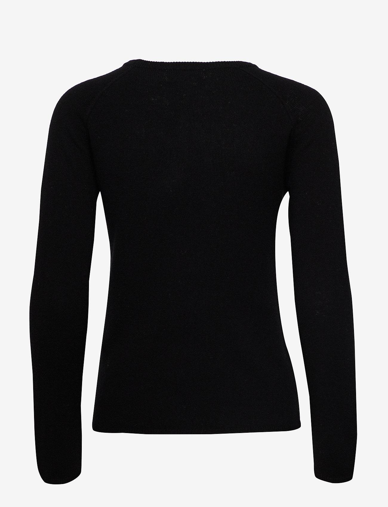 Rosemunde - Wool & cashmere pullover ls - kashmir - black - 1