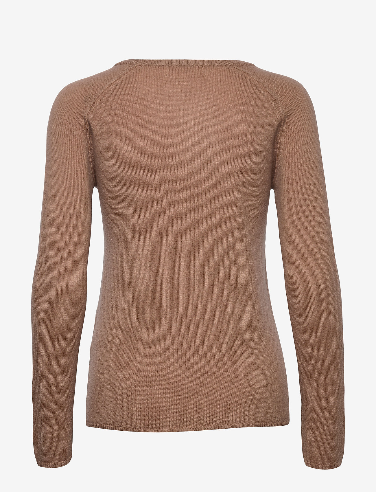 Rosemunde - Wool & cashmere pullover ls - kashmir - nougat brown - 1