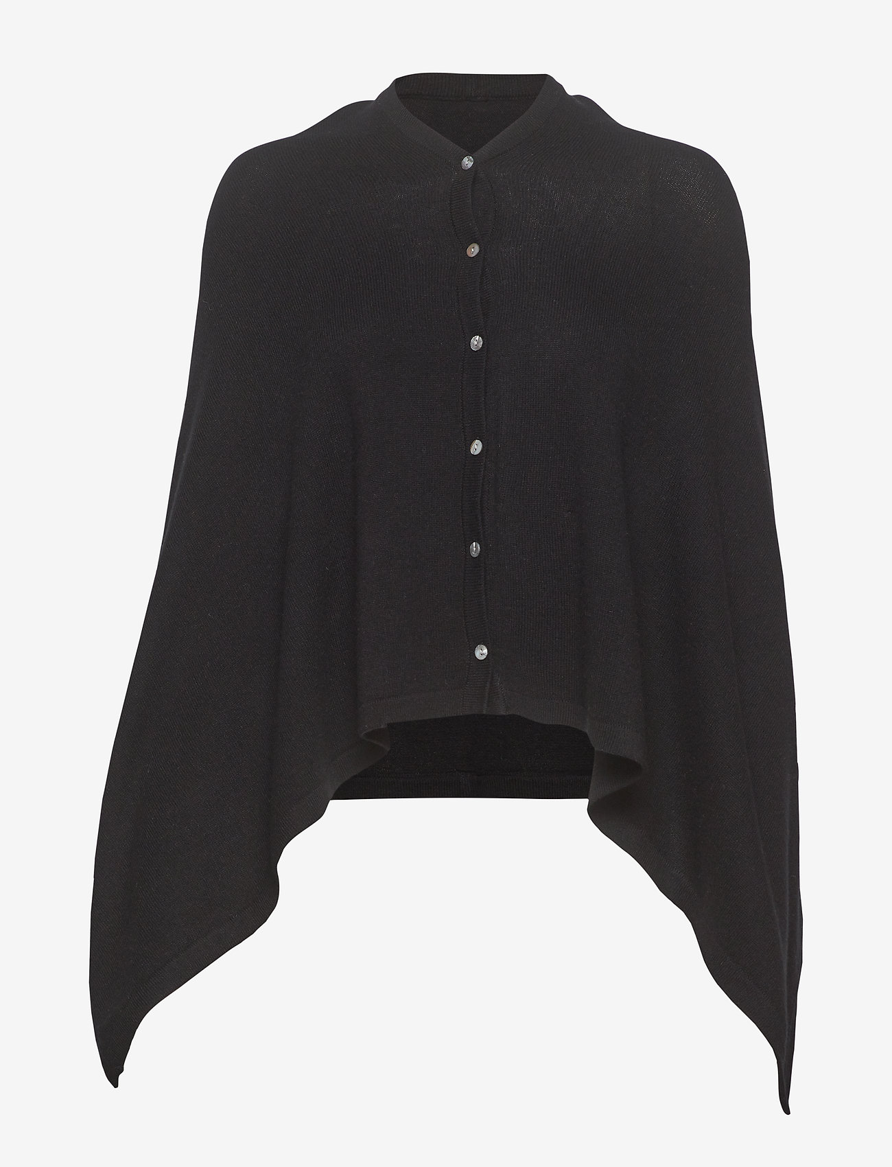 Rosemunde - Poncho - ponchos & capes - black - 0