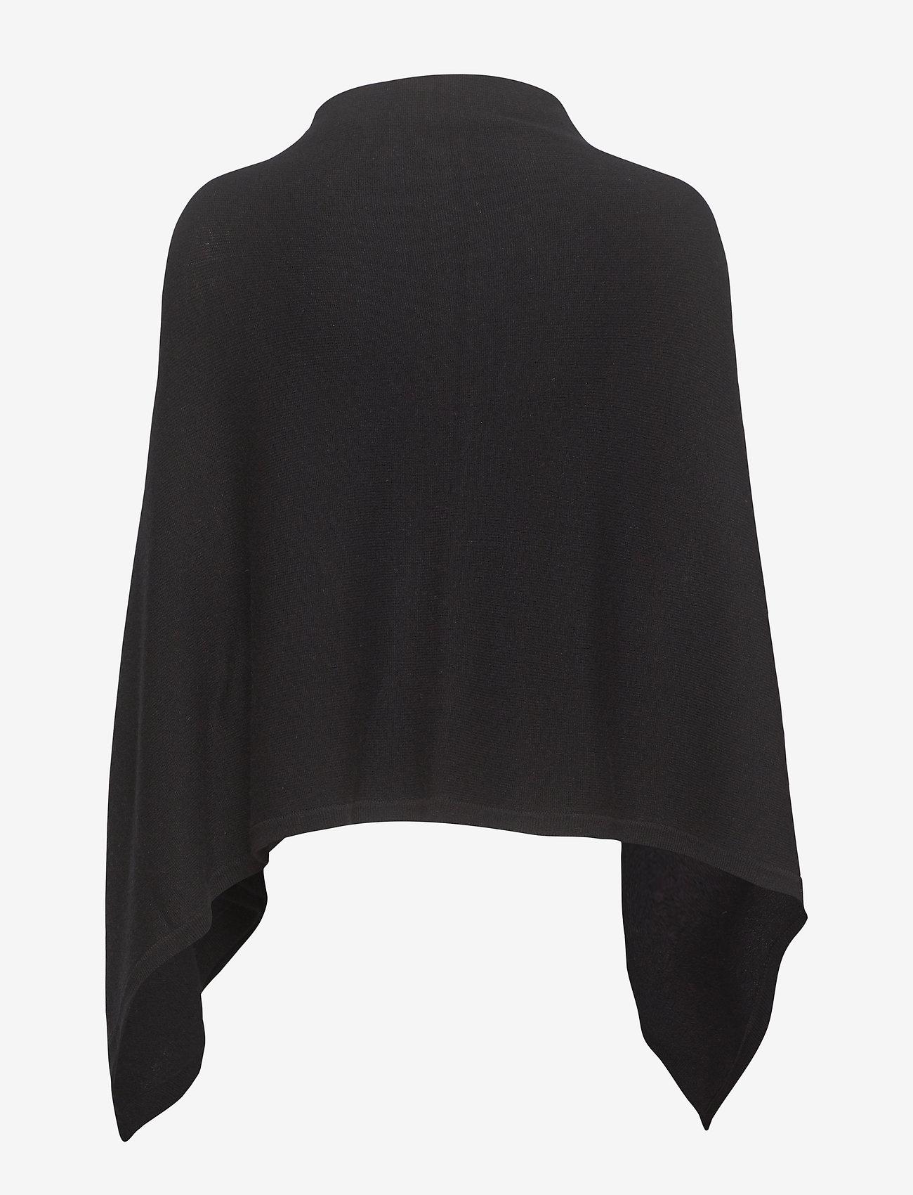 Rosemunde - Poncho - ponchos & capes - black - 1