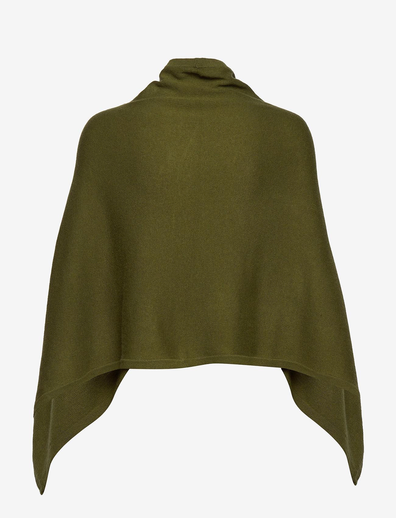 Rosemunde - Poncho - kaszmir - leaf green - 1