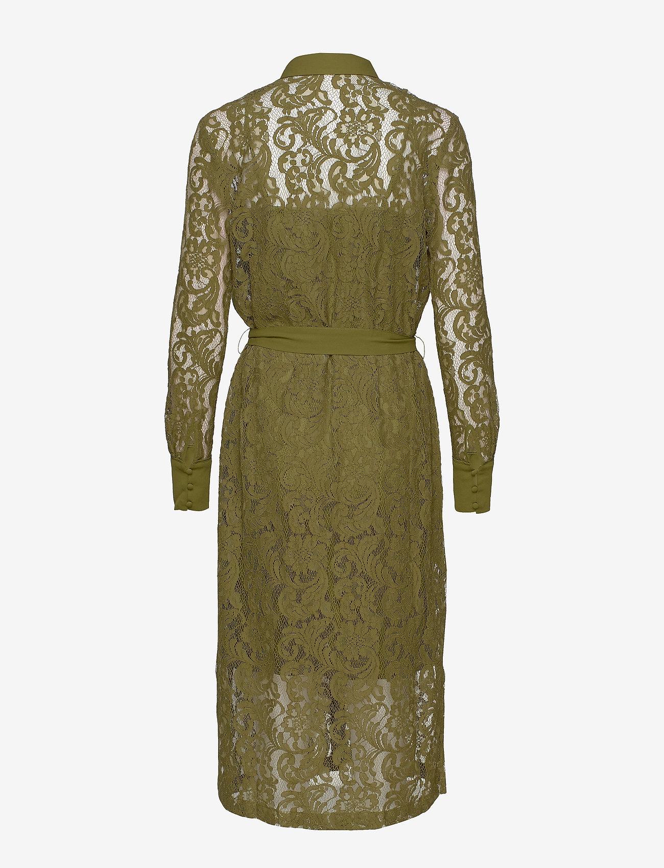 Dress Ls (Leaf Green) - Rosemunde T5K8Pz