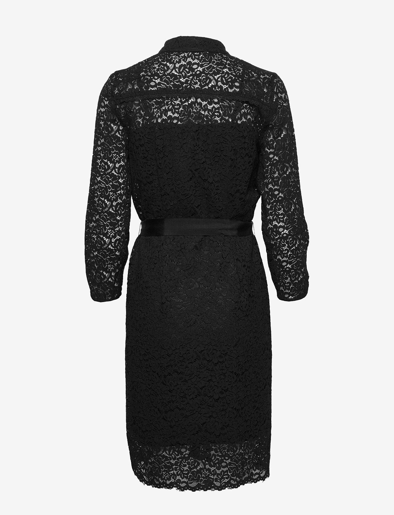 Rosemunde Dress 3/4s - Jurken BLACK