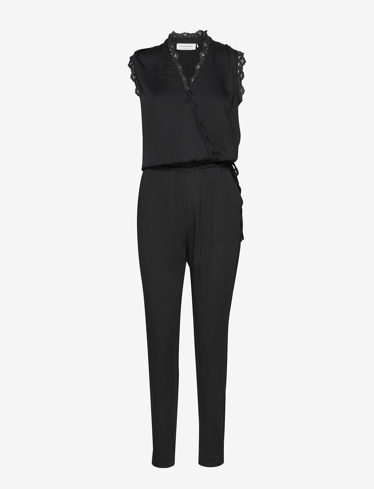 Rosemunde - Jumpsuit ss - jumpsuits - black - 0