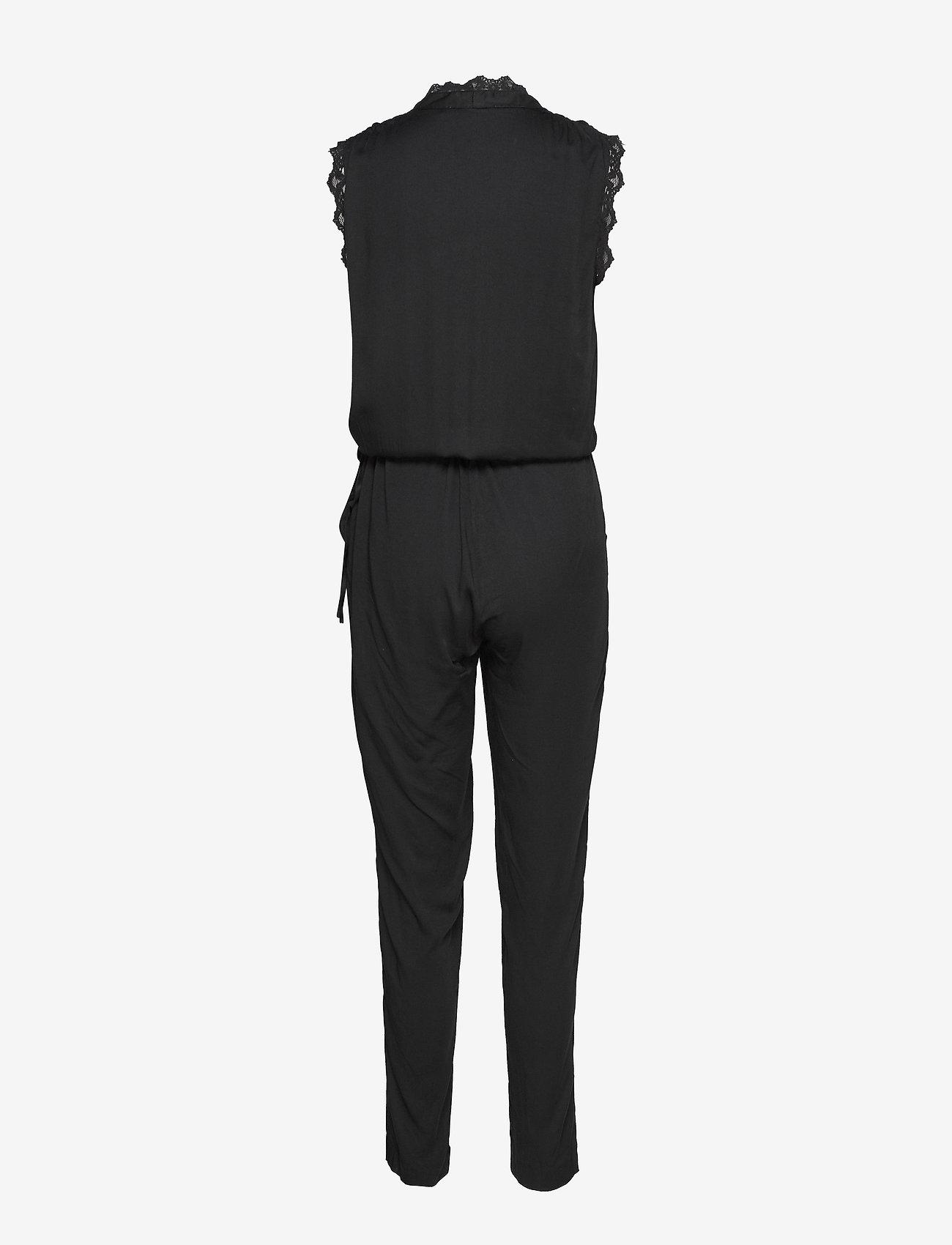 Rosemunde - Jumpsuit ss - jumpsuits - black - 1