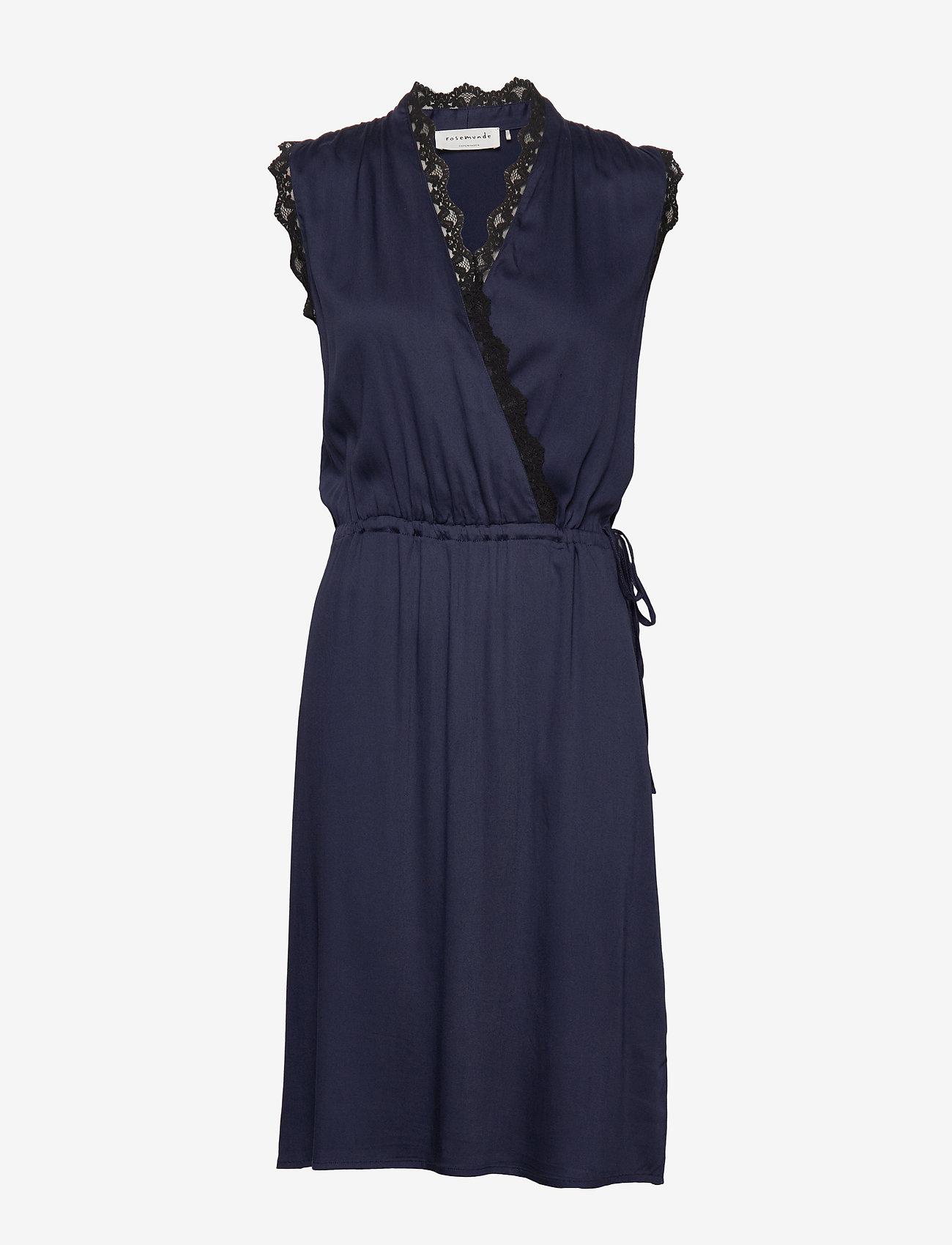 Rosemunde - Dress - robes portefeuille - navy - 0
