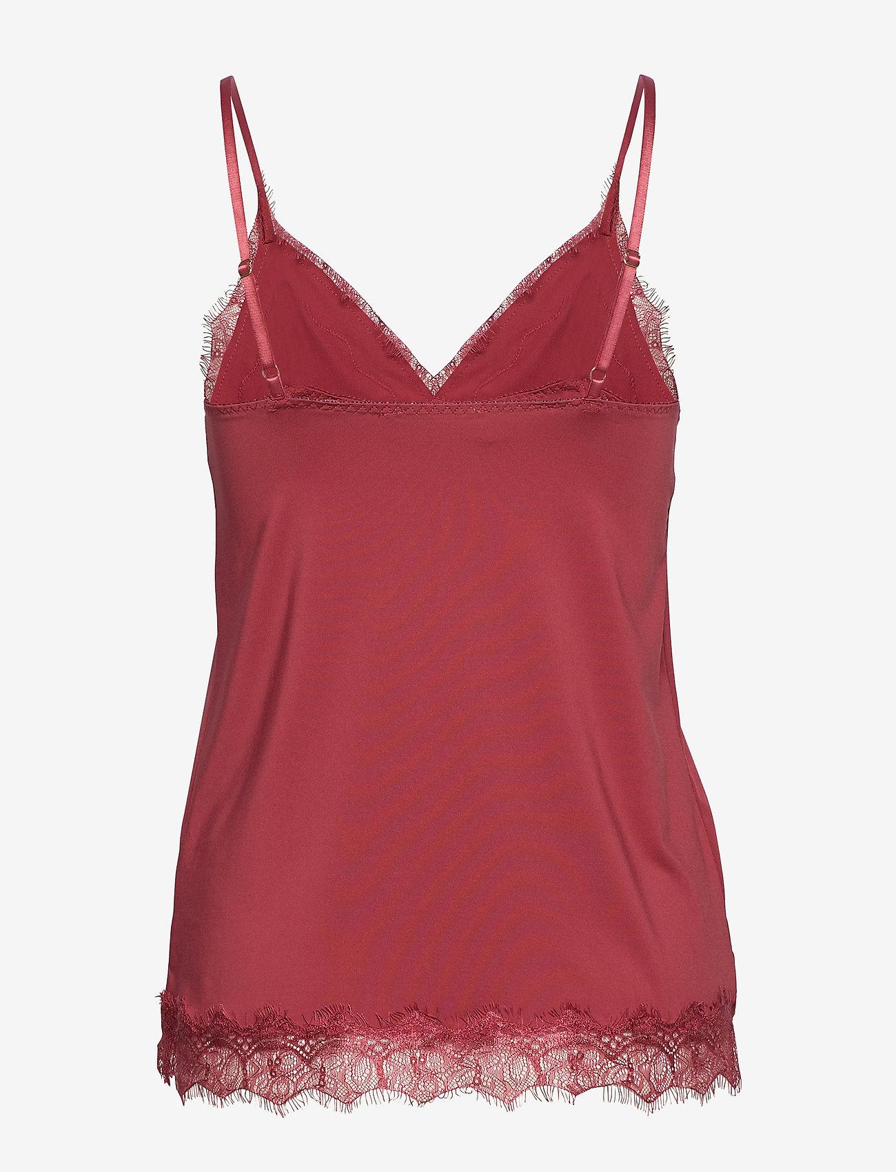 Rosemunde - Strap top - ermeløse bluser - scarlet red - 1