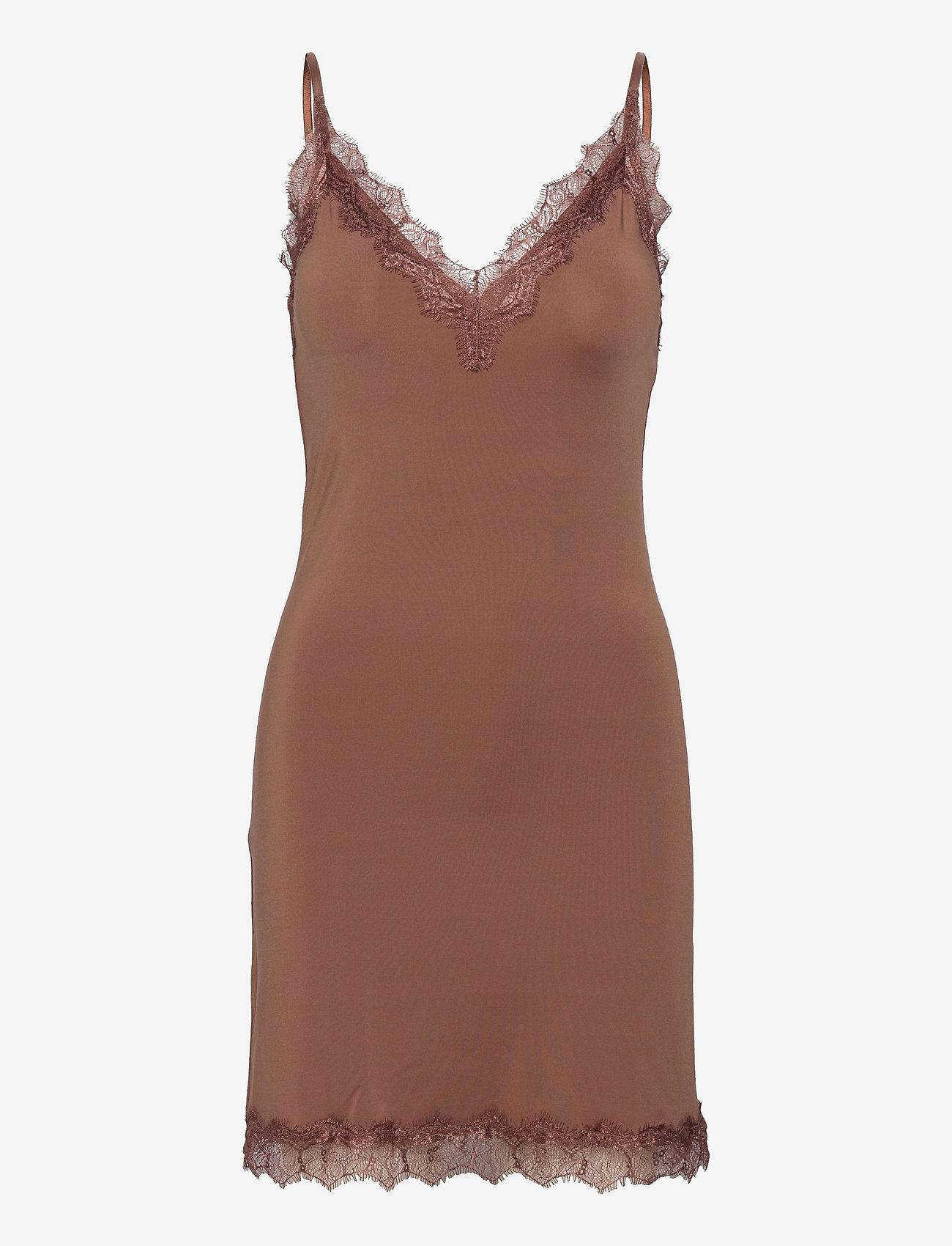 Rosemunde - Strap dress - bodies & onderjurken - acorn - 0