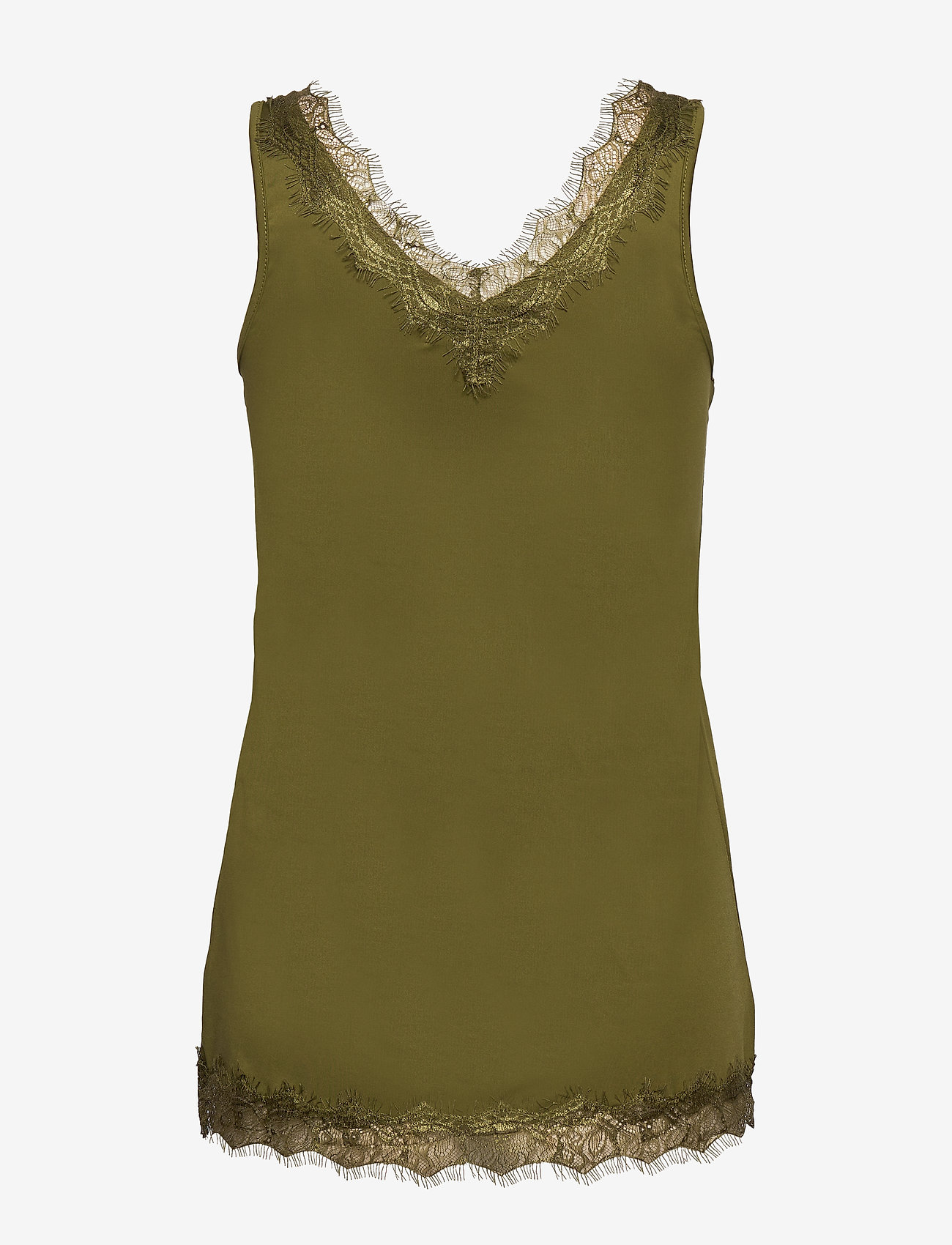 Rosemunde - Top - ermeløse bluser - leaf green - 1