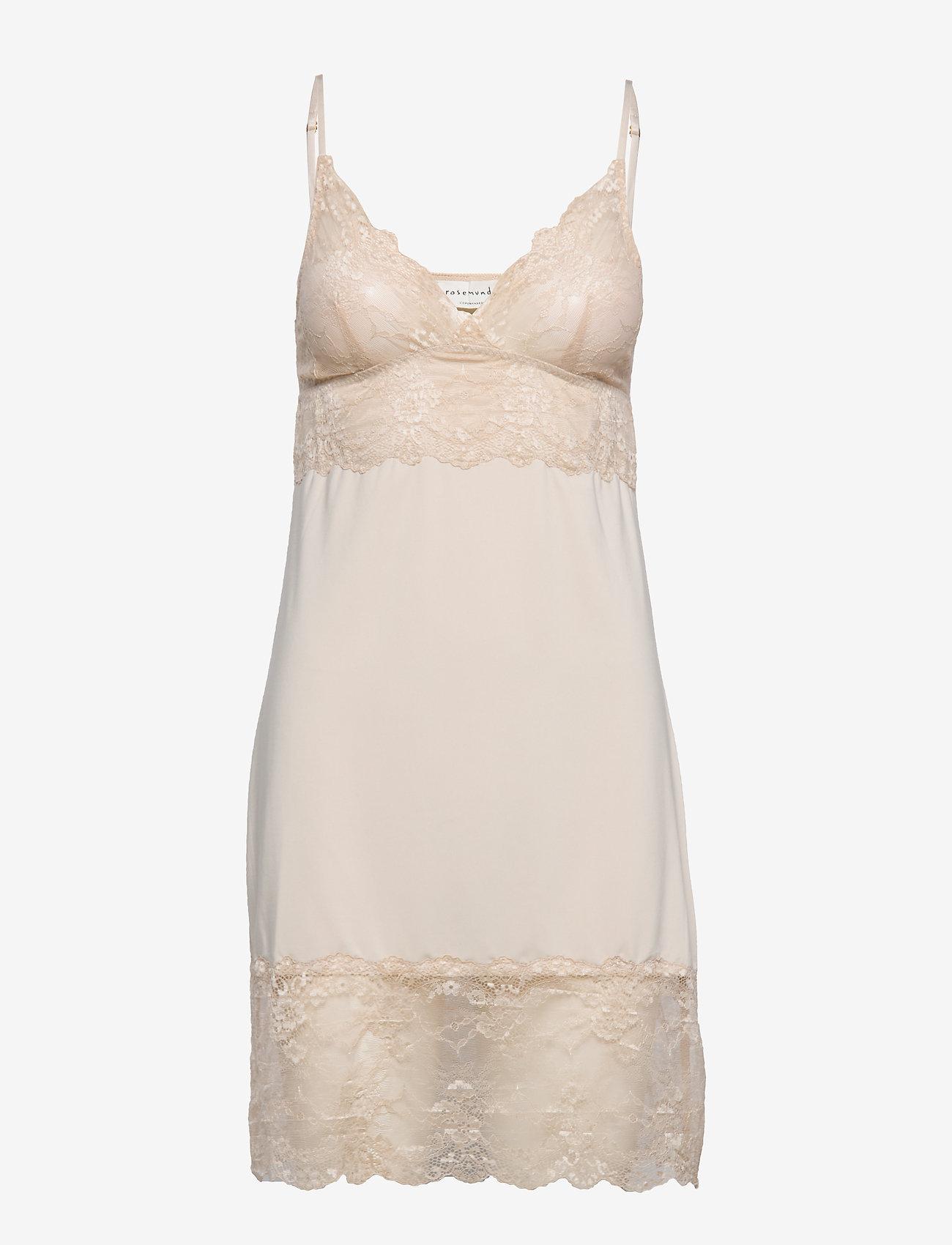 Rosemunde - Strap dress - bodies & slips - gray morn - 0