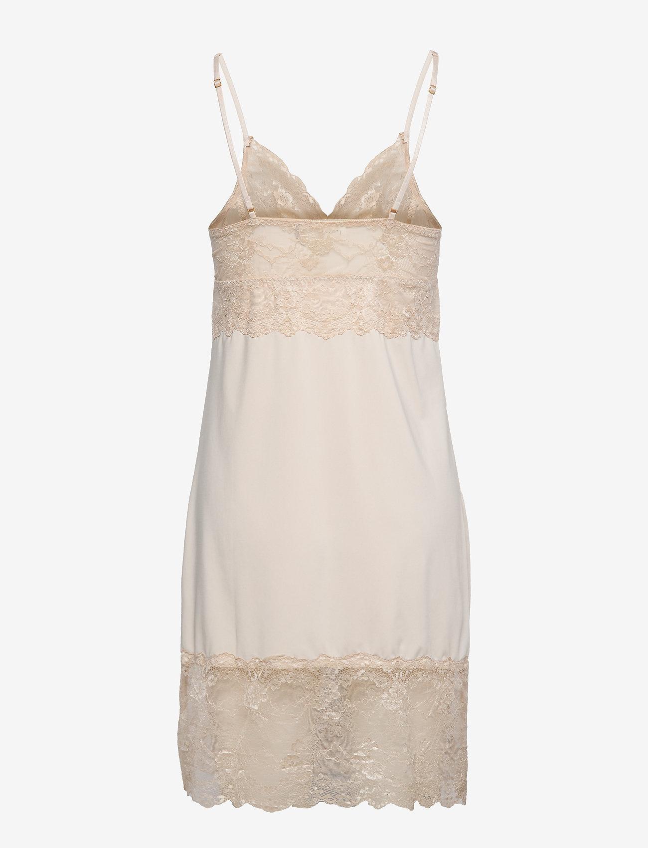 Rosemunde - Strap dress - bodies & slips - gray morn - 1