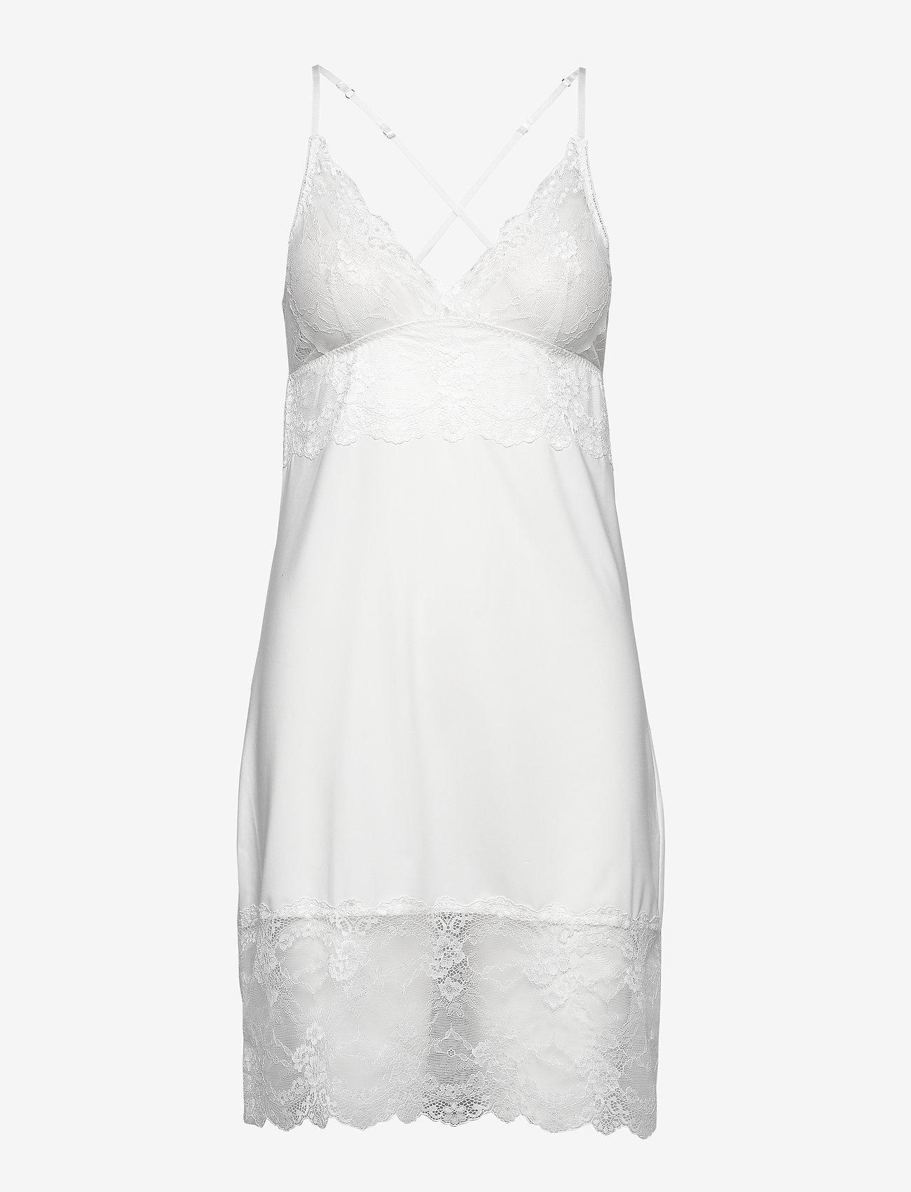 Rosemunde - Strap dress - bodies en onderjurken - ivory - 0