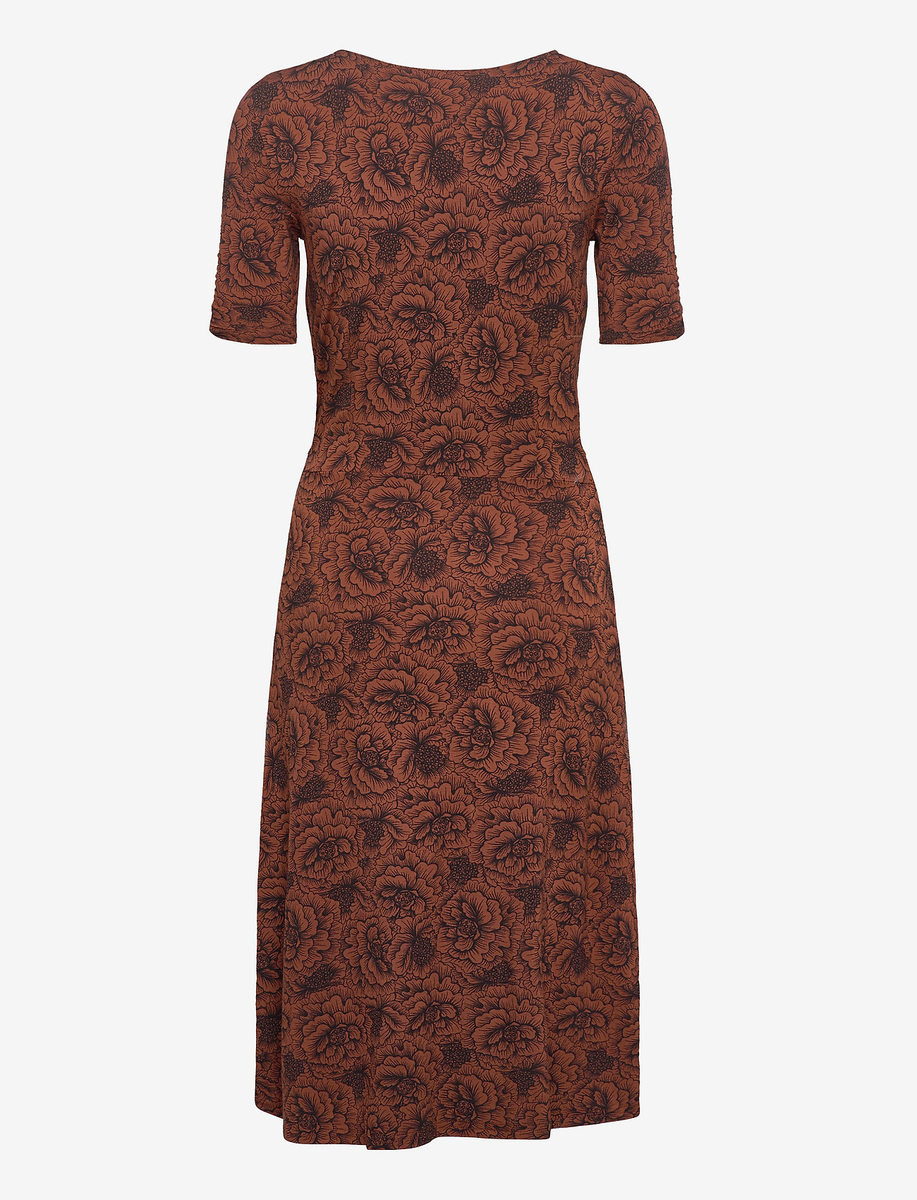 Dress (Amber Brown Rose Print) (59.40 €) - Rosemunde PnCQQ