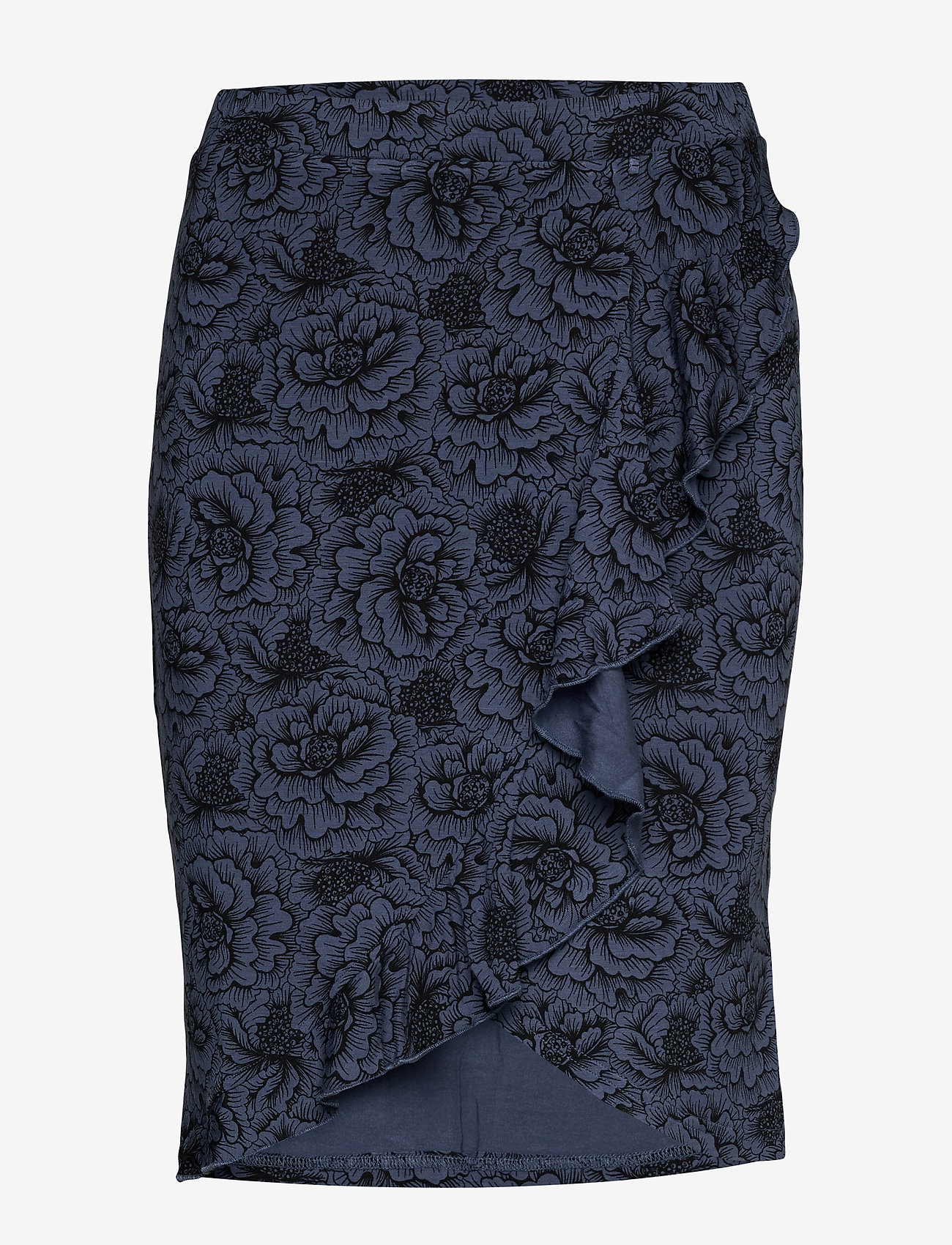 Rosemunde - Skirt - midi - true navy rose print - 0