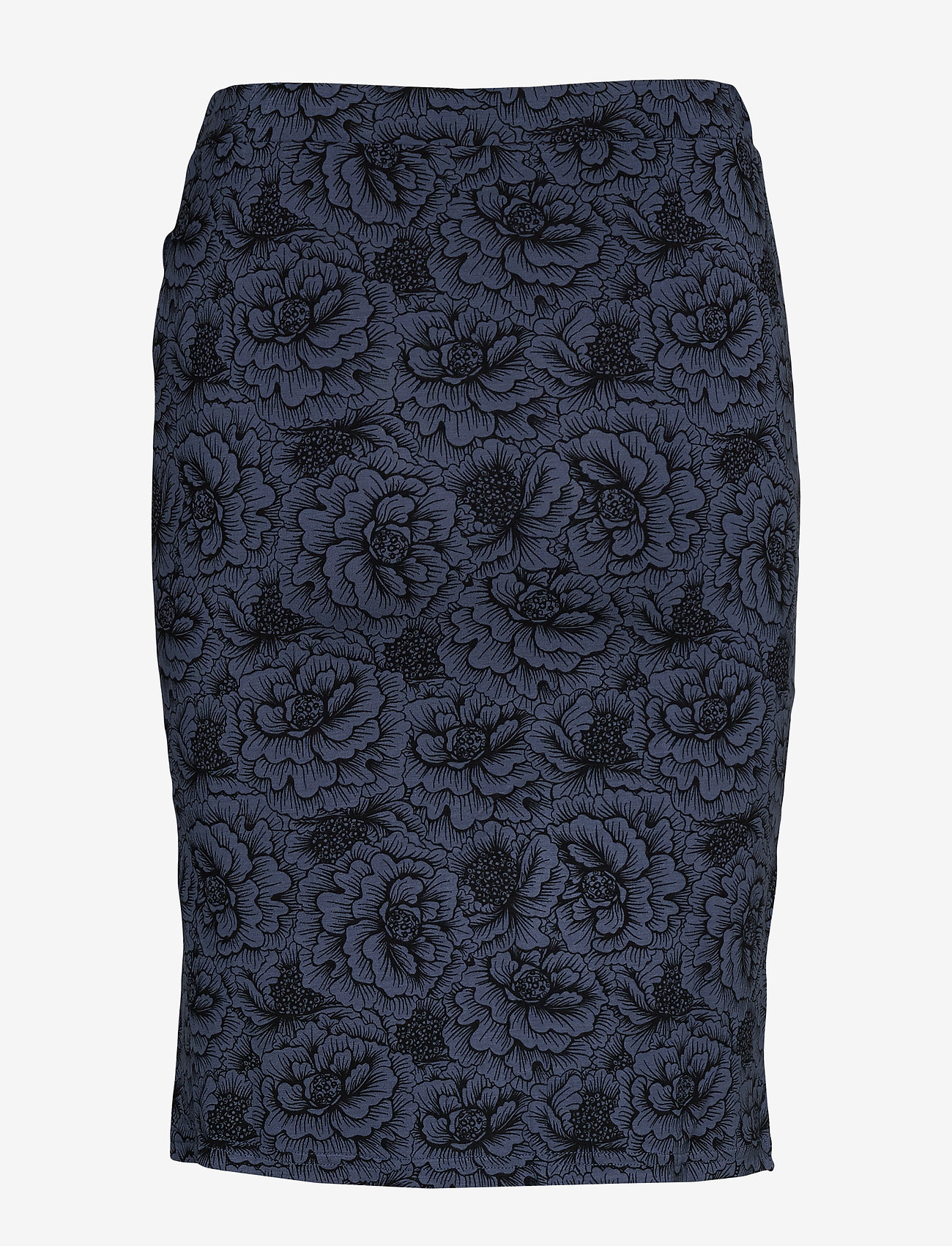 Rosemunde - Skirt - midi - true navy rose print - 1