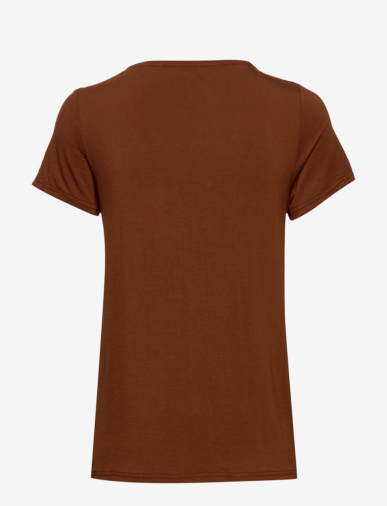 Rosemunde - T-shirt ss - t-shirts - amber brown - 1