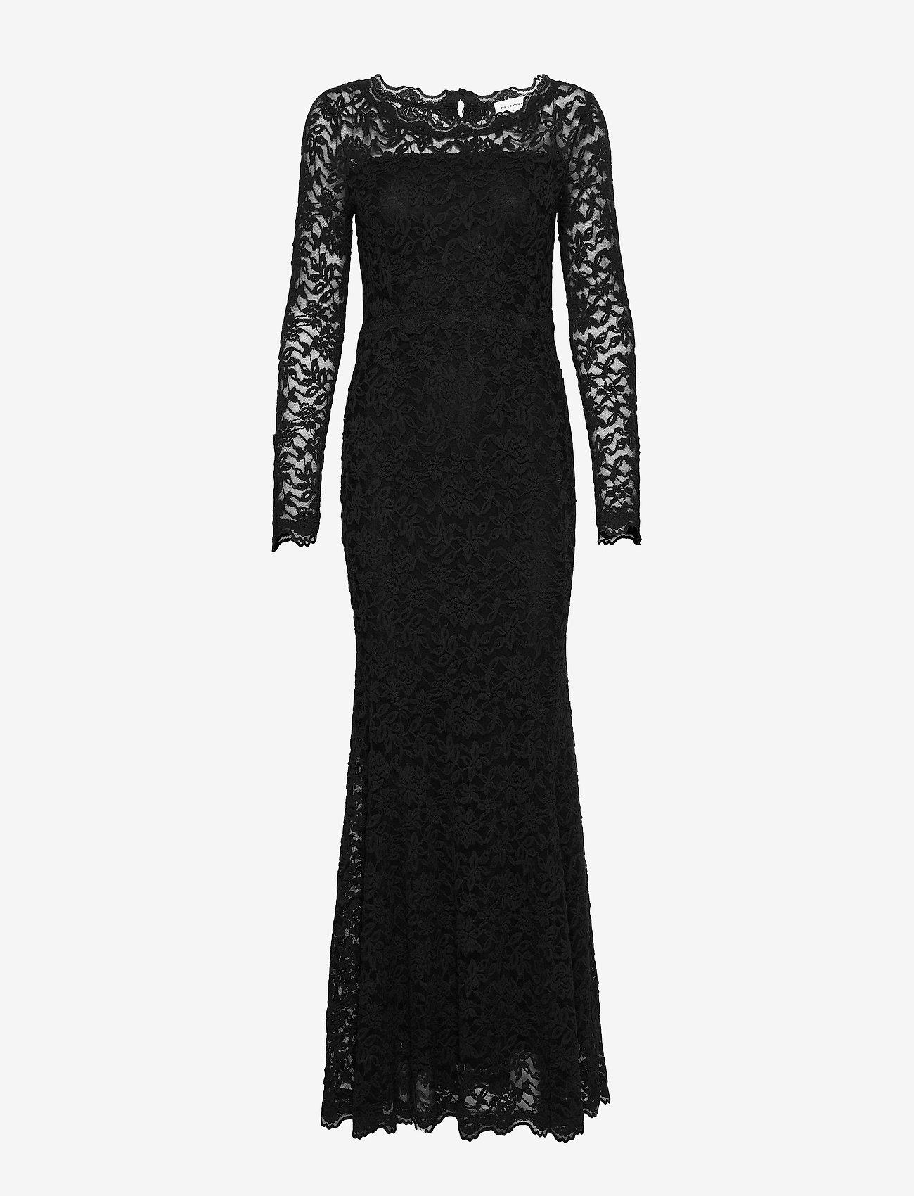 Rosemunde - Dress ls - kveldskjoler - black - 0