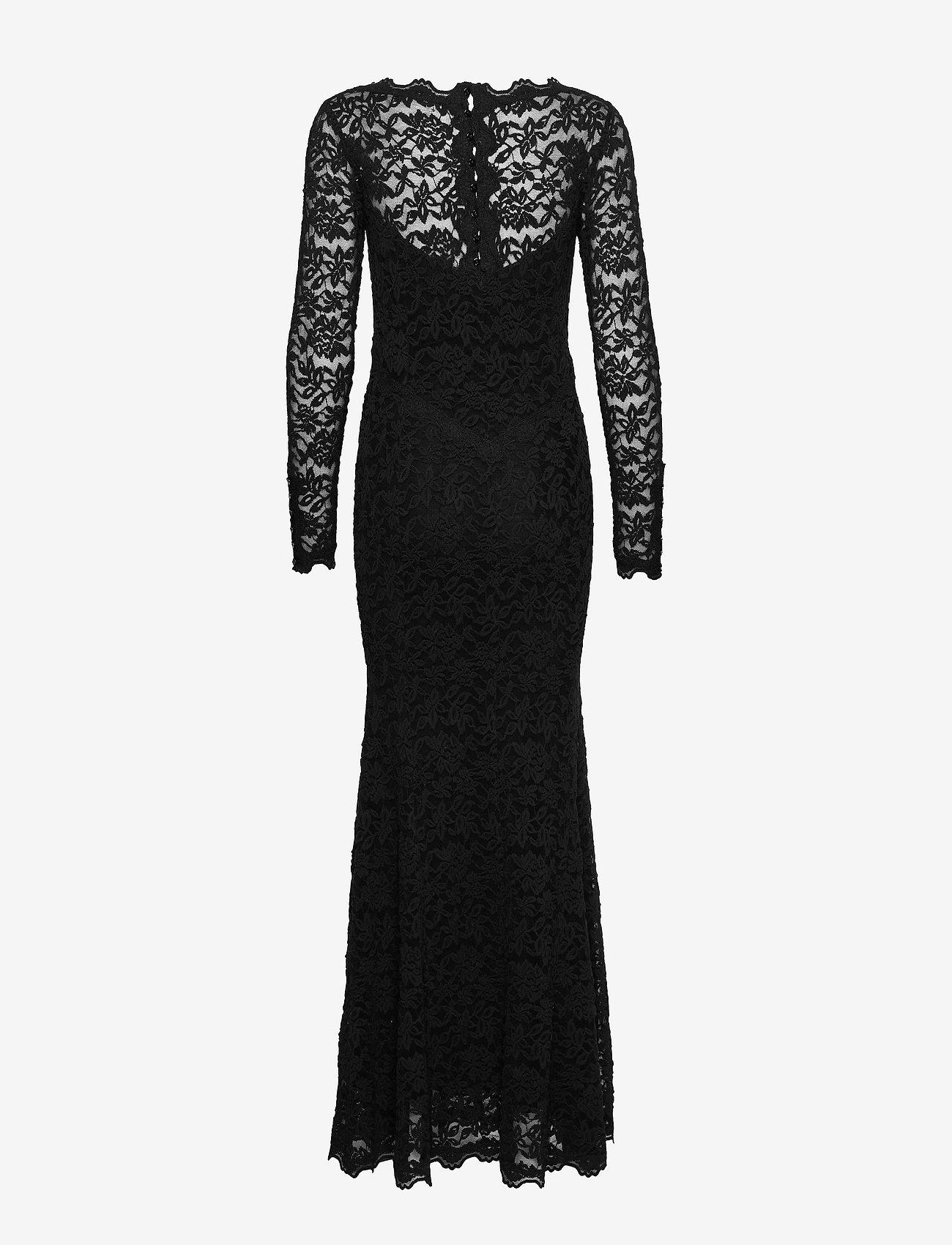 Dress Ls (Black) - Rosemunde y9NBSh
