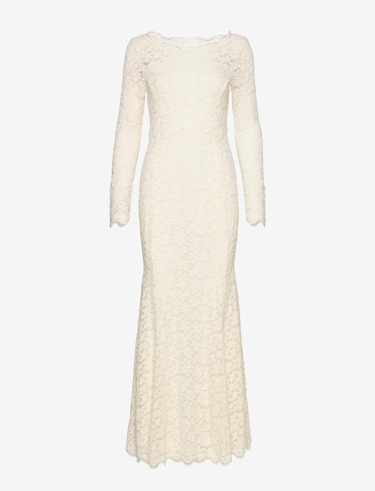Rosemunde - Dress ls - kveldskjoler - ivory - 0