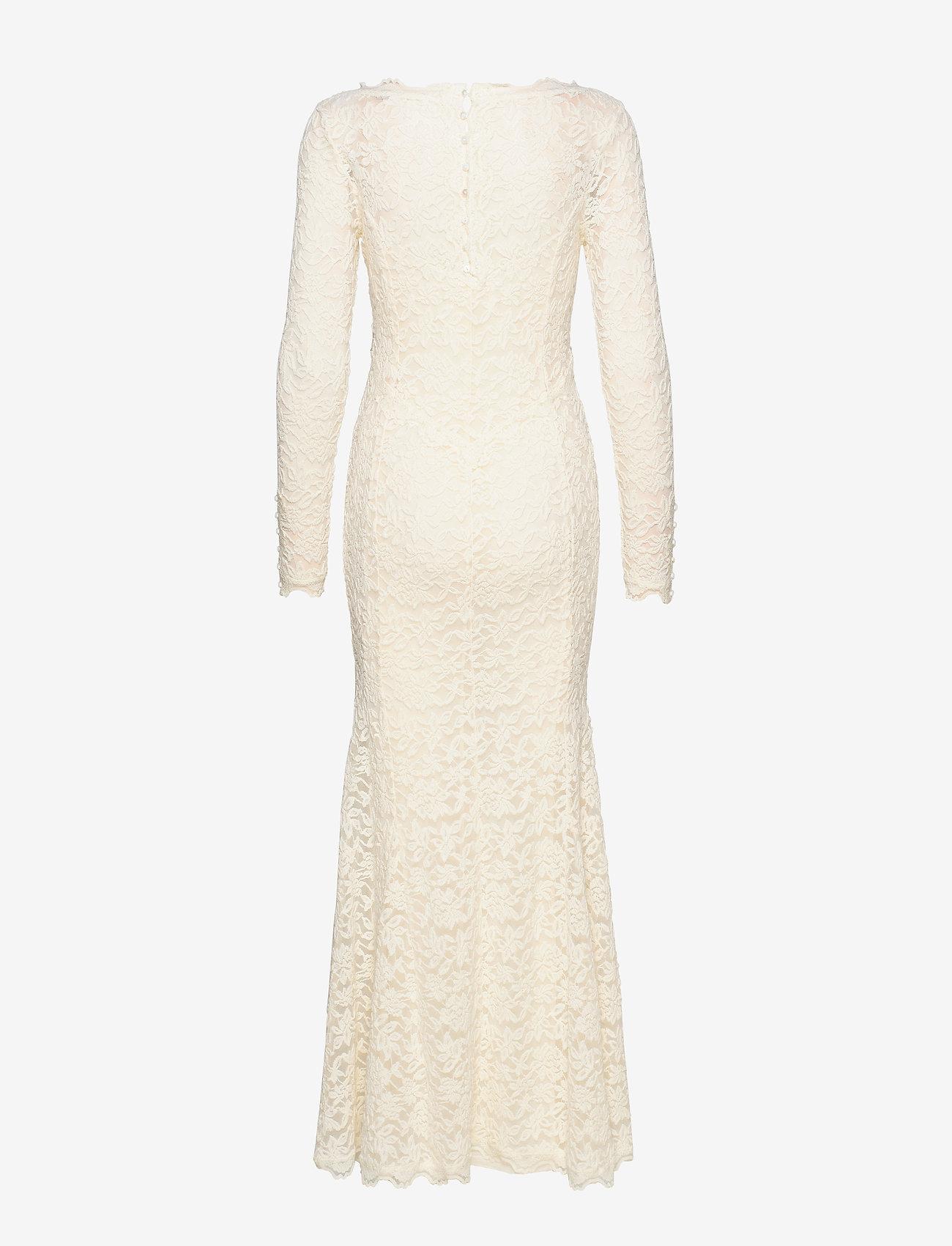 Rosemunde - Dress ls - kveldskjoler - ivory - 1