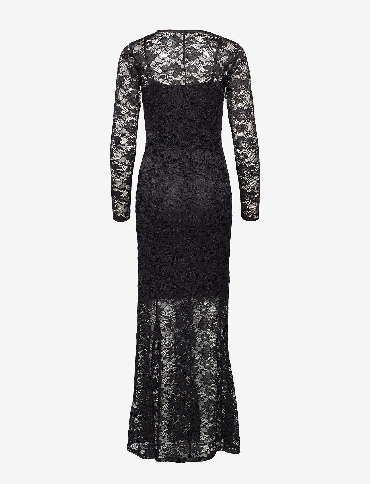 Dress Ls (Black) (95.40 €) - Rosemunde LkOPx