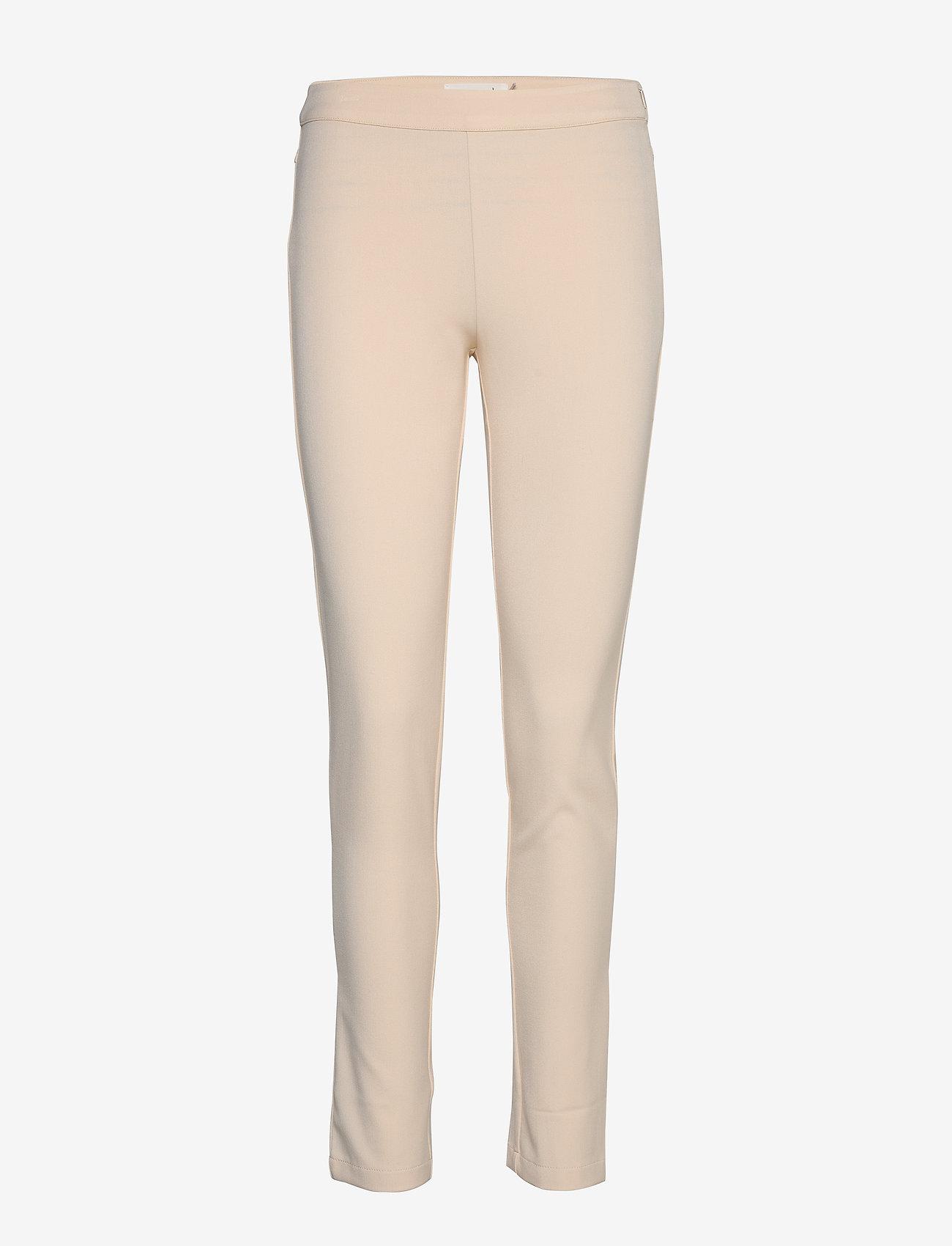 Rosemunde - Trousers - broeken med skinny fit - whisper beige - 0