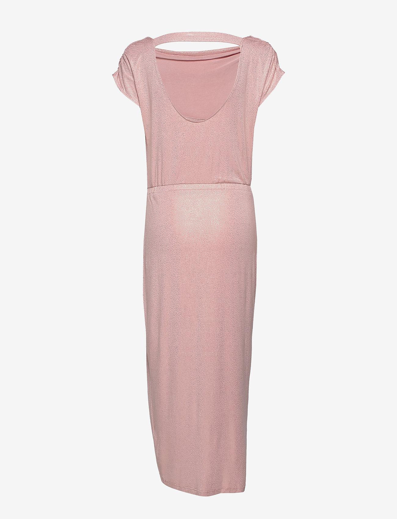 Rosemunde Dress ss - Sukienki POWDER ROSE SHIMMERING DOTS - Kobiety Odzież.