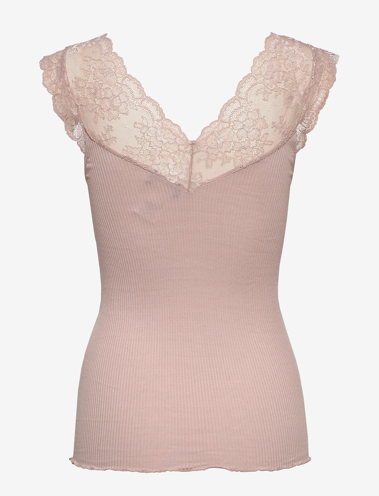 Silk Top Regular W/lace (Vintage Powder) (35.40 €) - Rosemunde 0xXzR