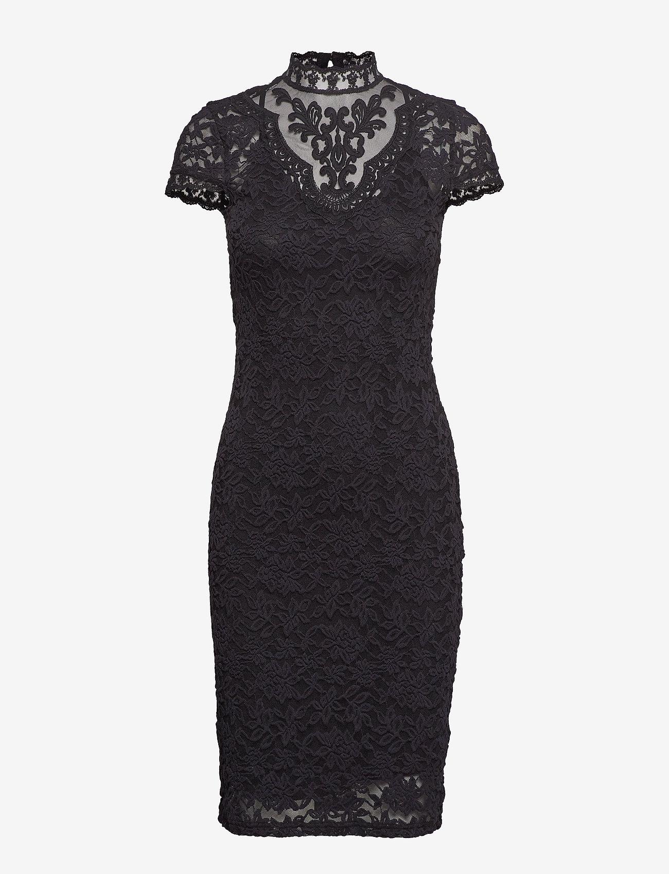 Dress Ss (Black) - Rosemunde eMBNEK