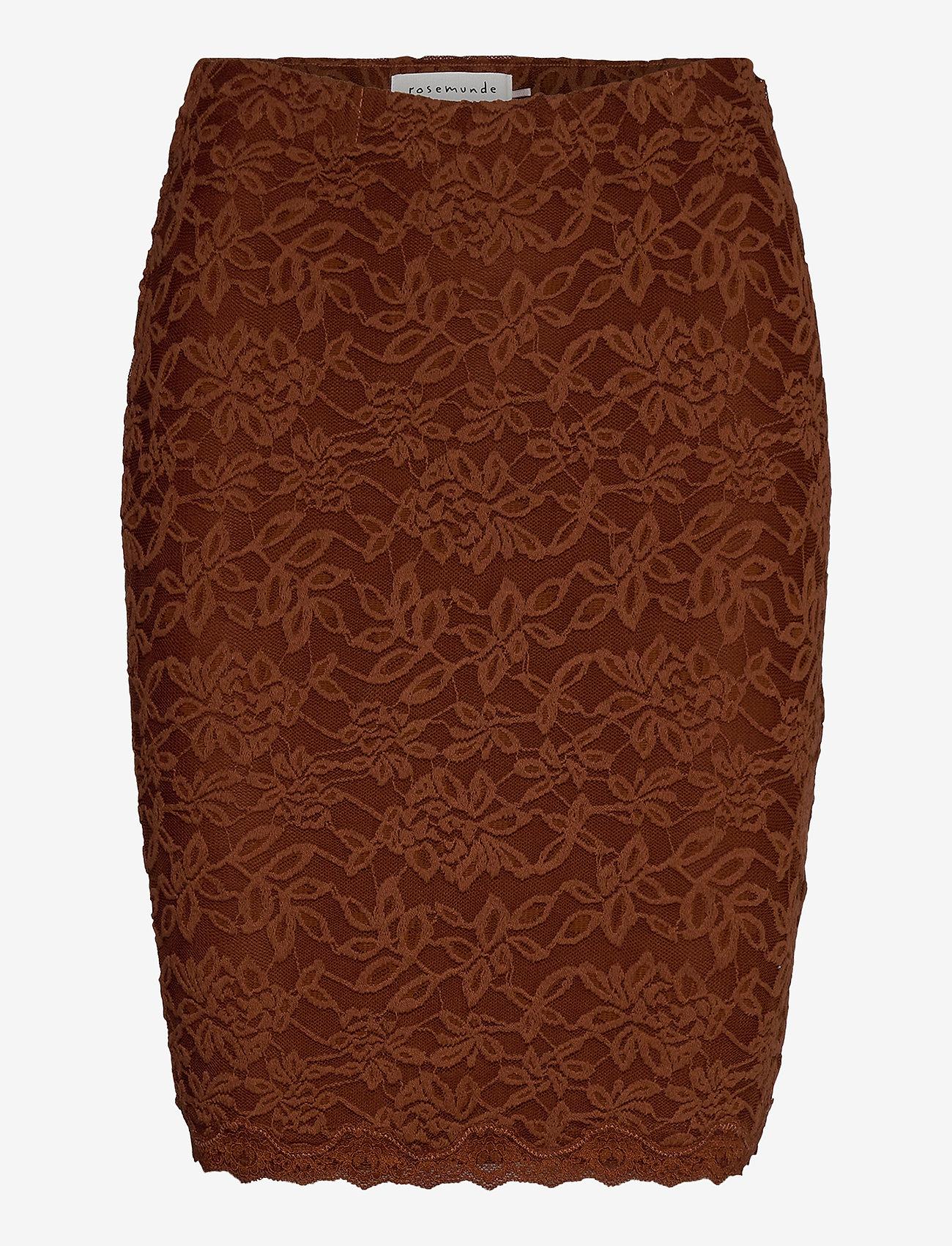Rosemunde - Skirt - short skirts - amber brown - 0