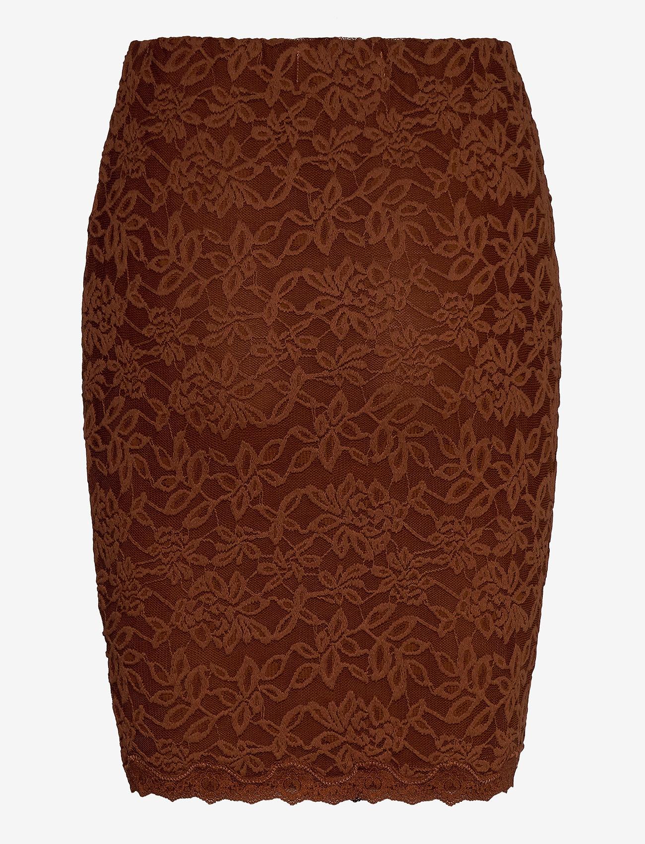 Rosemunde - Skirt - short skirts - amber brown - 1