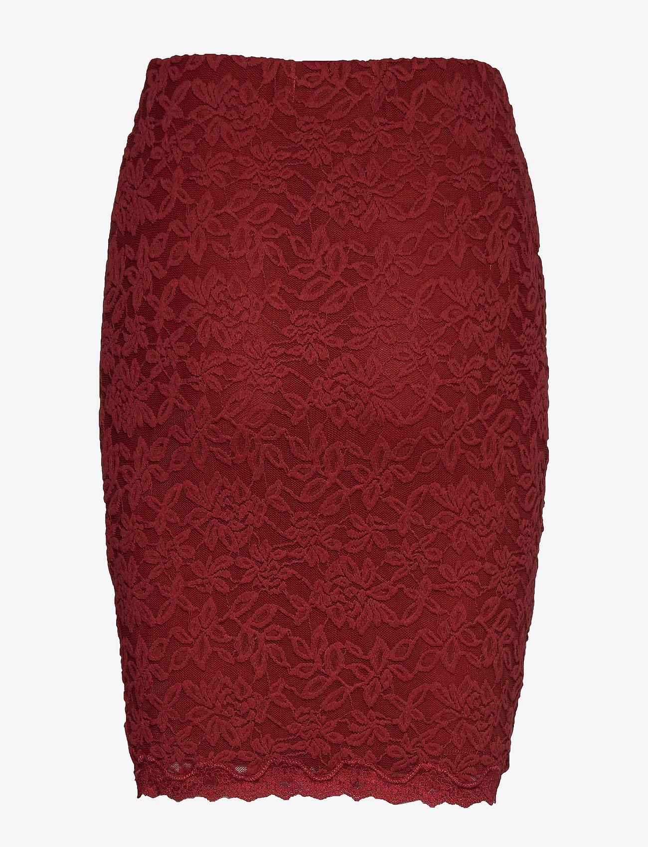 Rosemunde - Skirt - kort skjørt - burnt red - 1