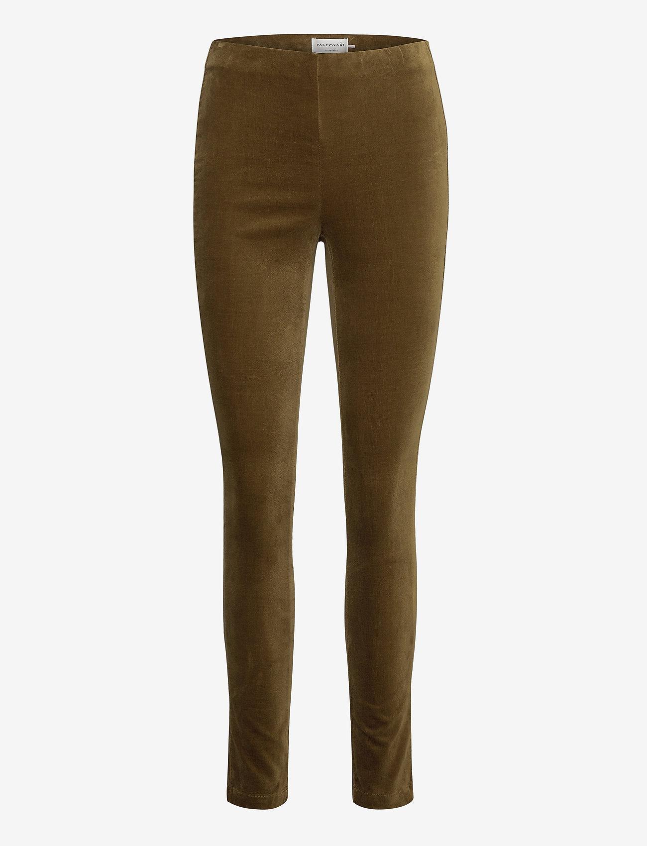 Rosemunde - Trousers - broeken med skinny fit - military olive - 0